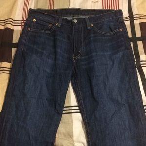 Levi's 514 Straight Fit Jeans - 32W X 30L